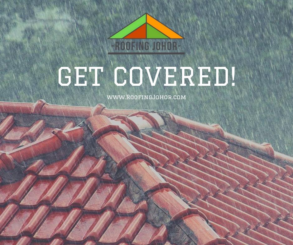 Roofing Johor deals with roof leak repairs in johor bahru